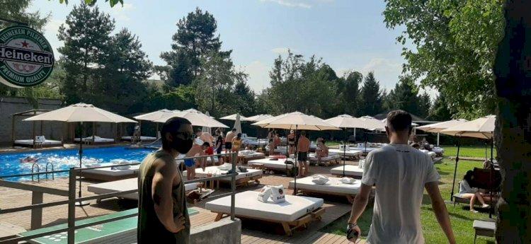 Несмотря на карантин, в Алматы работала зона отдыха