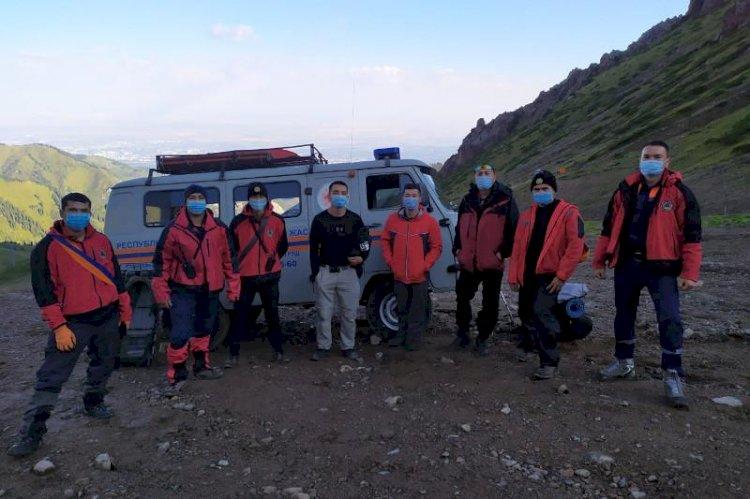 Спасатели Алматы спасли мужчину с эпилепсией в горах