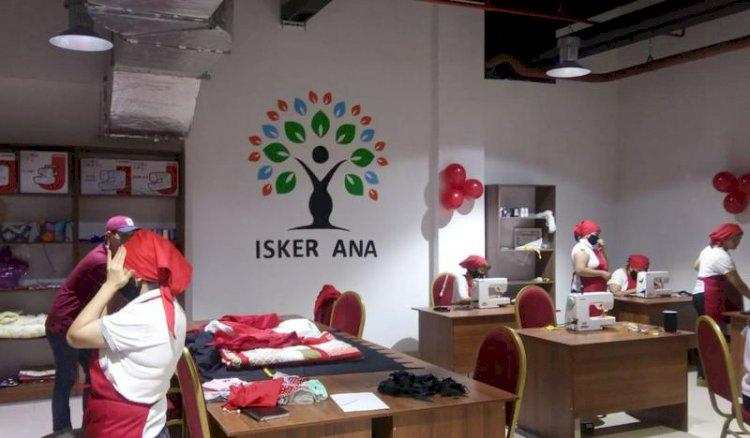 В Алматы открылся социальный швейный цех
