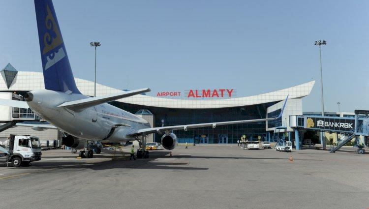 Все пассажиры из-за границы прилетели в Алматы с ПЦР-справками