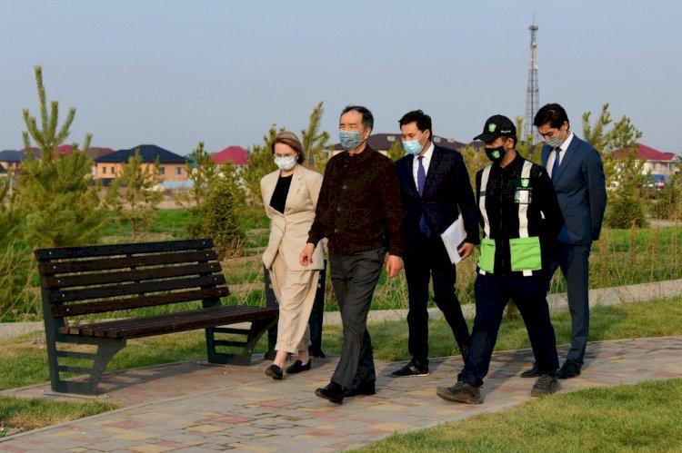 Построим скверы и детские площадки: как благоустраивается новый Алматы