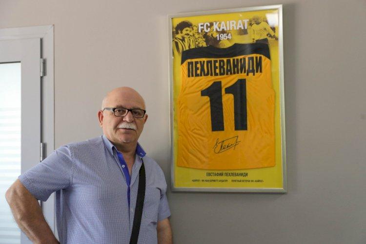Президент наградил орденом легенду футбольного «Кайрата»