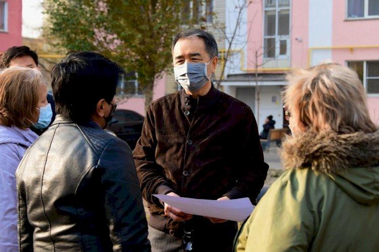 «Средства выделены»: Сагинтаев держит на контроле ситуацию в микрорайоне «Зердели»