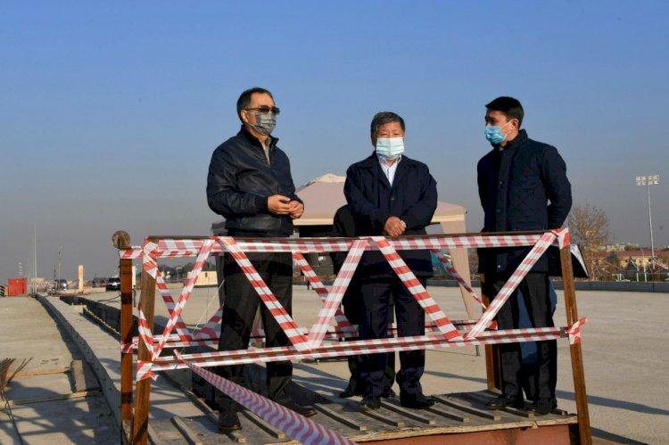 Сагинтаев ознакомился с развитием Наурызбайского района: что поручил аким