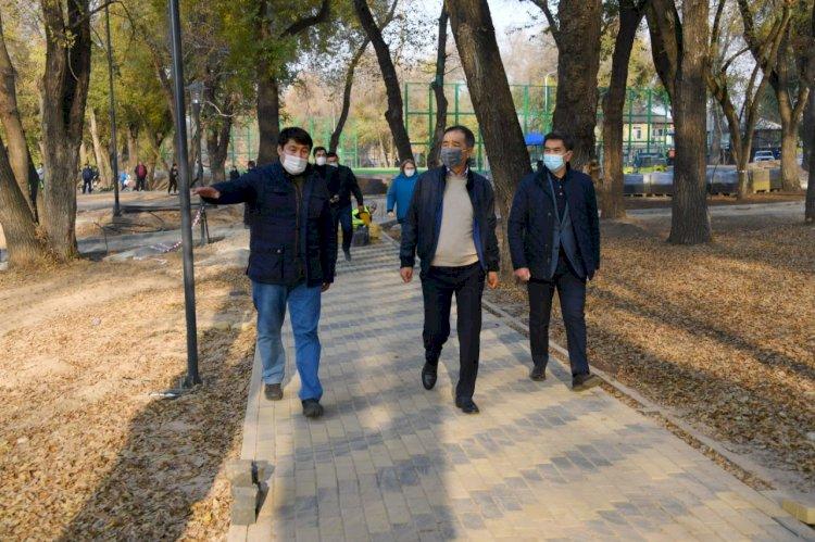Сагинтаев ответил на запросы жителей Медеуского района