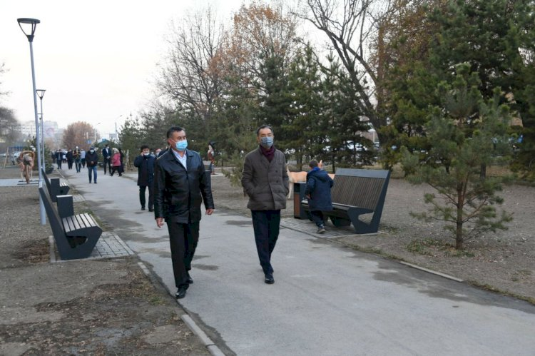 Сагинтаев призвал алматинцев вместе поддерживать порядок в городе
