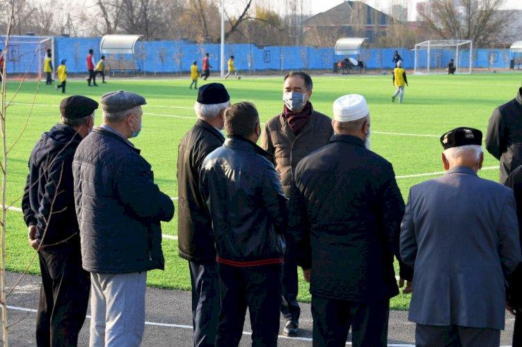 Бакытжан Сагинтаев рассказал о развитии Ауэзовского района