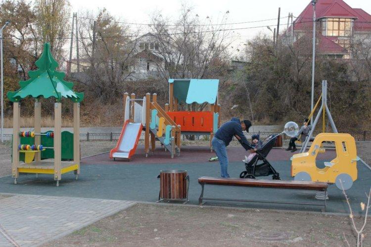 Жители Алматы выразили благодарность за благоустройство территорий