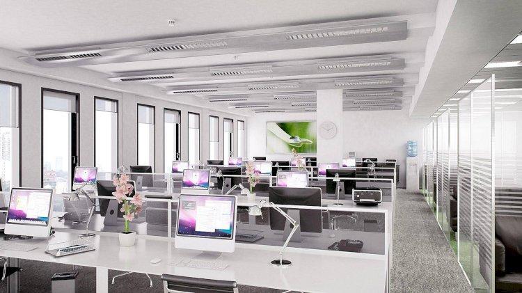Акимы районов Алматы работают в open space-офисах