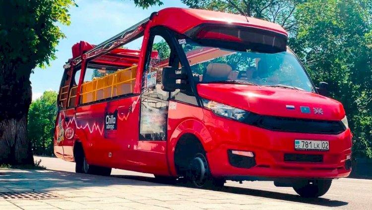 Запуск экскурсионного автобуса состоится в Алматы