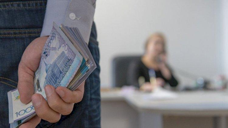 11 человек в Алматинской области были поощрены за сообщения о взятках