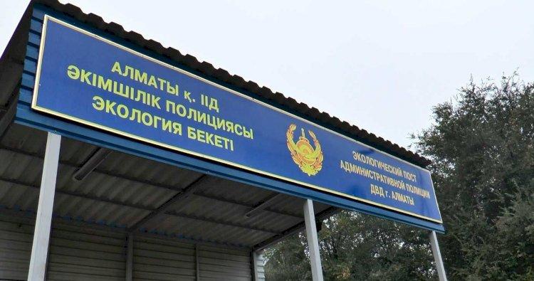 Новые экопосты построят в Алматы