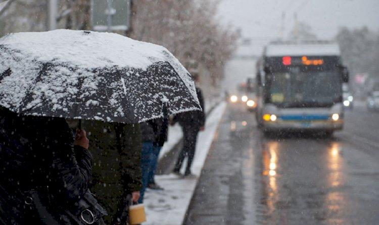 Алматинцам пообещали снежный уик-энд