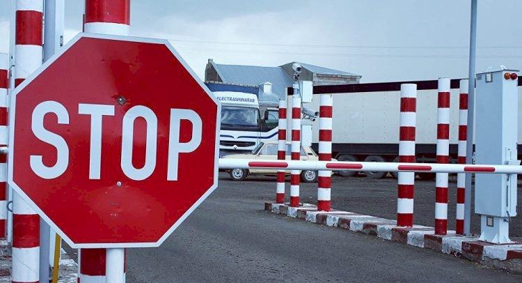 КПП на казахстанско-кыргызской границе закрыли до марта