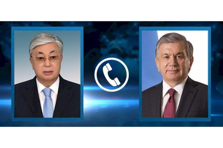 Лидеры Казахстана и Узбекистана обсудили актуальные вопросы сотрудничества