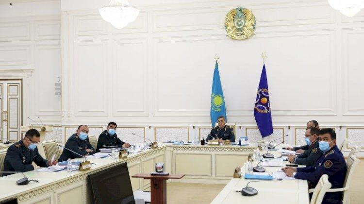 Заседание Совета министров обороны ОДКБ прошло в онлайн-формате