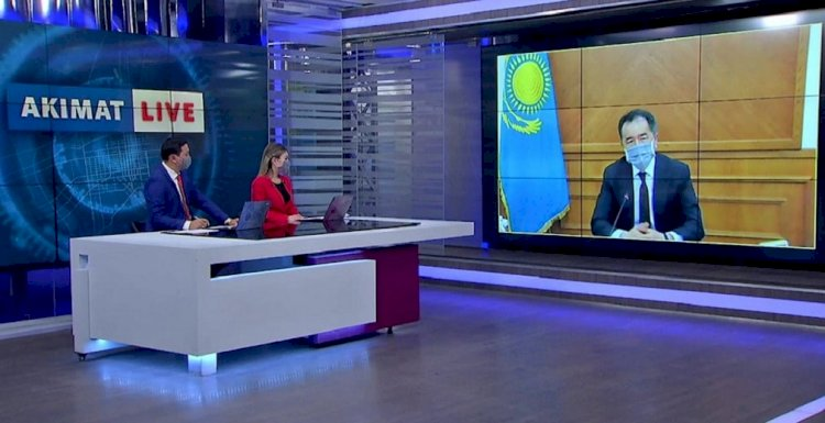 Аким Сагинтаев призвал бизнесменов  строго cоблюдать все санитарные нормы