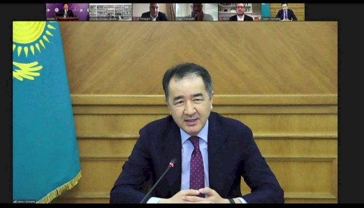 Бакытжан Сагинтаев:  Алматы должен стать центром креативных индустрий, притягивающим к себе инвестиции и таланты со всего мира