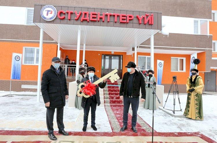 Два новых студенческих общежития открылось в Талдыкоргане