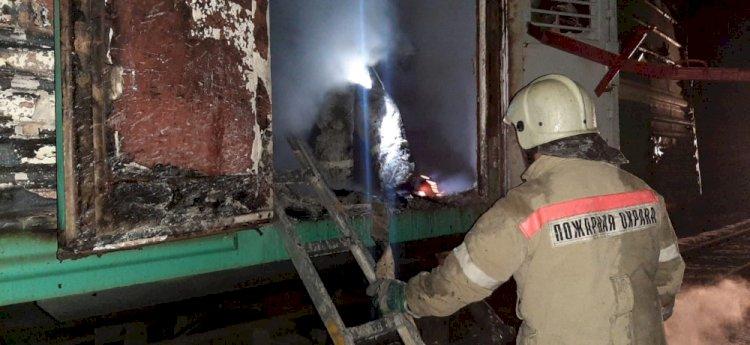 Пять человек пострадали при пожаре в поезде Мангышлак – Актобе