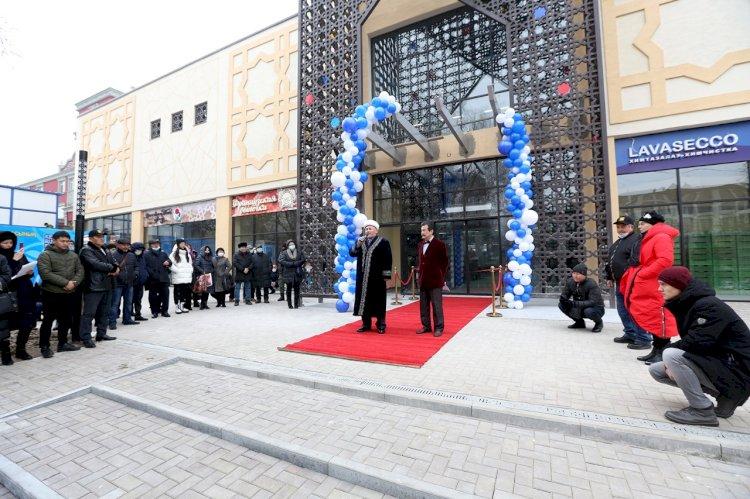 Новый торгово-производственный  центр открылся в Алматы