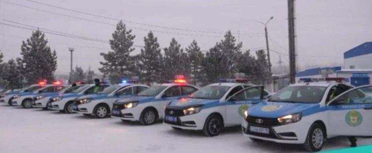 Личный состав МВД поздравляет казахстанцев с Днем Независимости