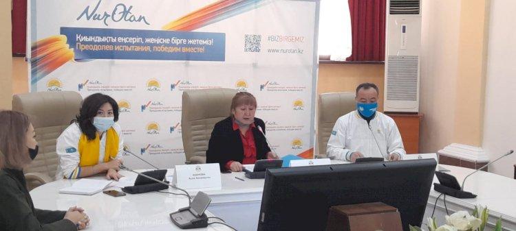 Алмат Кодасбаев: Качество образования – одна из важнейших задач партии Nur Otan