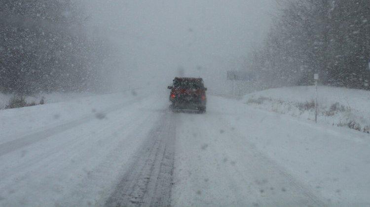Из-за непогоды перекрыто 45 километров автодороги в Алматинской области