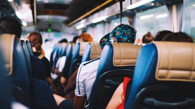 Казахстанцы меньше стали ездить на автобусах