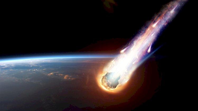 Падение загадочного космического объекта в Китае попало на видео