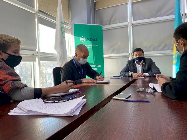 Наблюдатели из ОБСЕ посетили офис партии ADAL