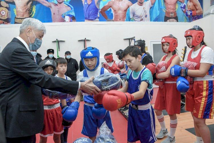 Новый физкультурно-оздоровительный комплекс открыт в Алматинской области