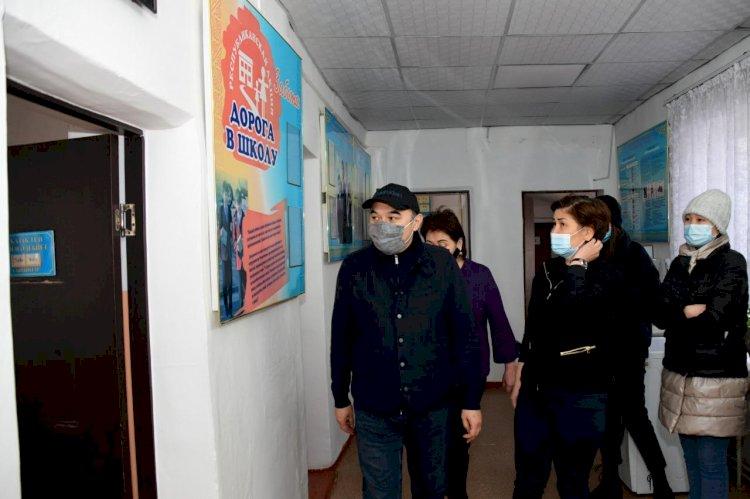 Ержан Бабакумаров ознакомился с работой по строительству новых школ