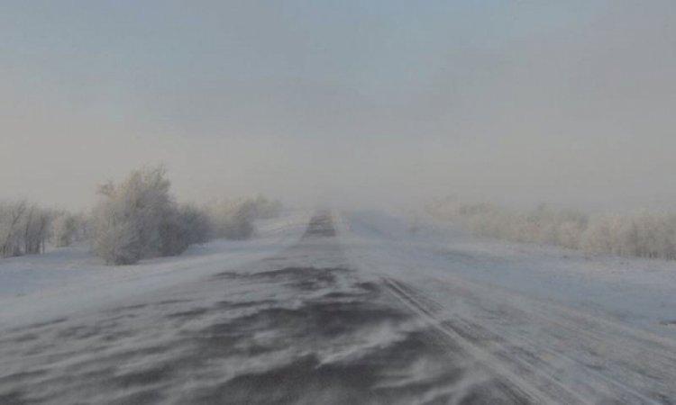 Закрыто движение на одной из автодорог в Алматинской области