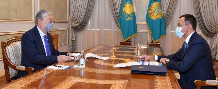 Глава государства принял председателя Сената Парламента