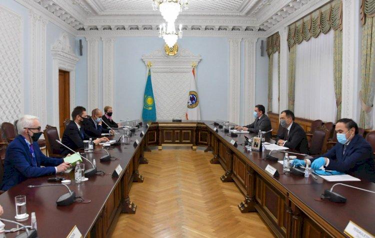 Сагинтаев обсудил с послом Я. М. Доманьски проведение предстоящих выборов