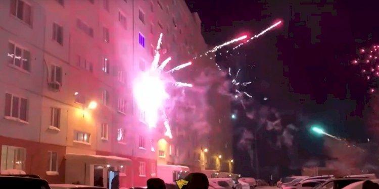 В новогоднюю ночь в Алматы горела квартира