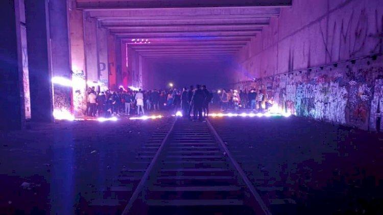 Французские жандармы пострадали при разгоне подпольной вечеринки