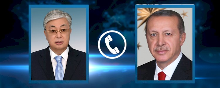 Президенты Казахстана и Турции обменялись новогодними поздравлениями по телефону