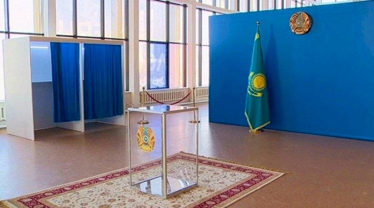В Алматы полным ходом идет подготовка избирательных участков к выборам