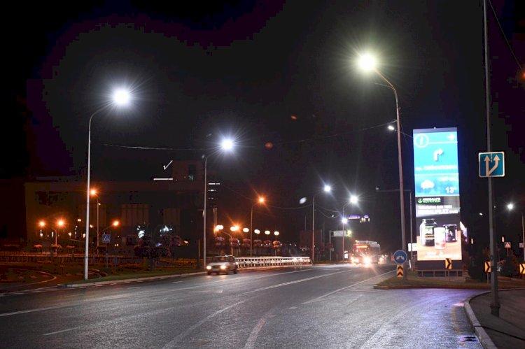 Более 600 улиц будет освещено в Алматы в наступившем году