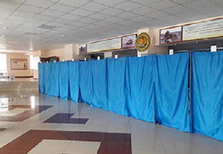 В Вооруженных Силах РК образовано 19 избирательных участков