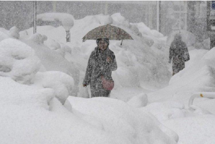 Жертвами снегопадов в Японии стали 29 человек