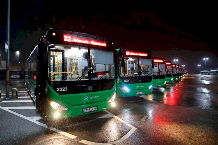 В Алматы изменена схема движения одного из автобусов