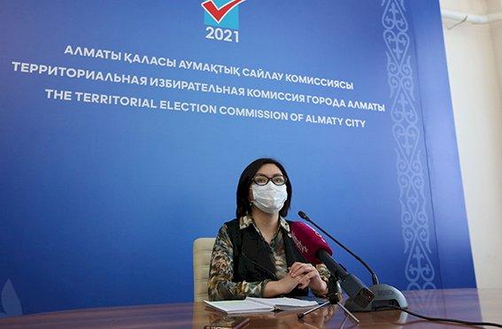 Избирательные участки Алматы адаптированы для людей с особыми потребностями