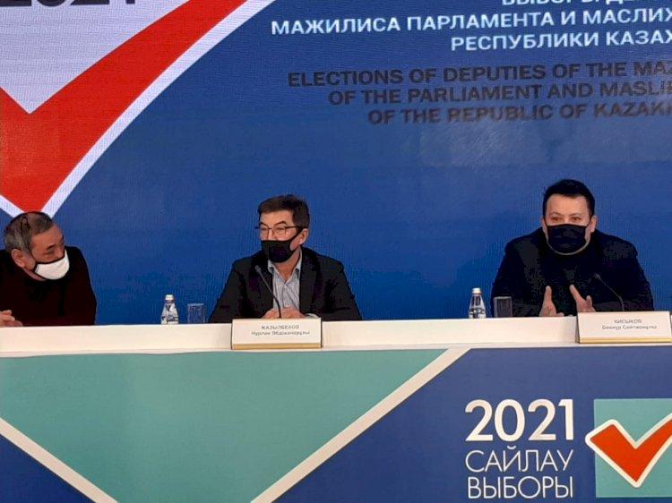 Основной наплыв голосующих в Алматы ожидают во второй половине дня