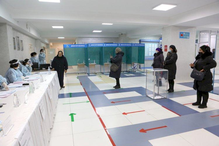Выборы в Казахстане: явка избирателей составила 63,3 процента