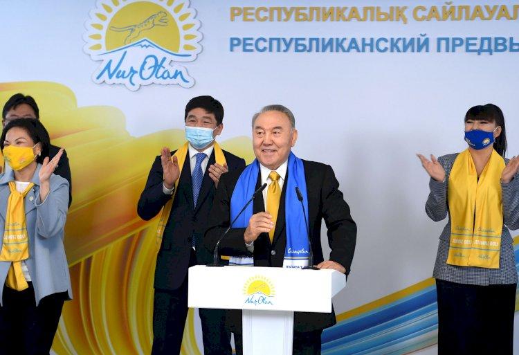 Нурсултан Назарбаев: Вместе мы всегда преодолеем трудности
