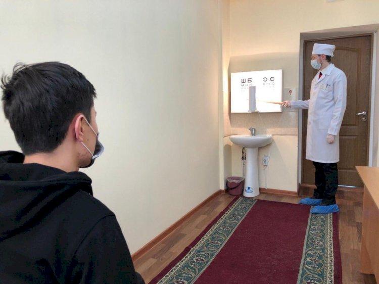 Около 7000 юношей примут на воинский учет в Алматы
