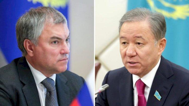 Спикер Госдумы поздравил Нигматулина с успехом в проведении выборов